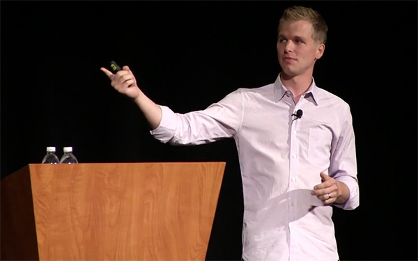 Ryan Delk speaking at Microconf 2014